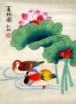 Mandarin Duck - Chinese Painting