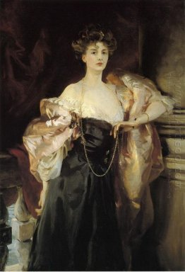 Portrait Of Lady Helen Vincent Viscountess D Abernon 1904