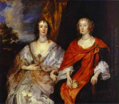 portrait of anna dalkeith countess of morton and lady anna kirk