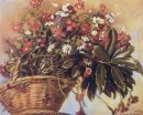 A Basket With Flowers 1934
