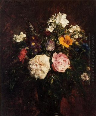 Still Life With Flowers 1862