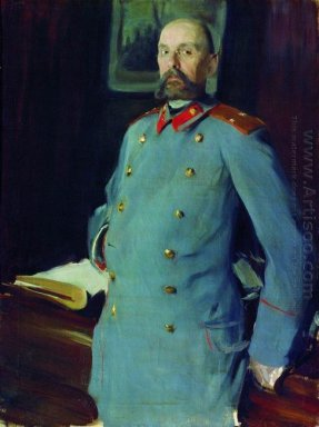 Portrait Of The Commandant Of The Mariinsky Palace Major General