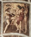 Apollo And Marsyas From The Stanza Della Segnatura 1511