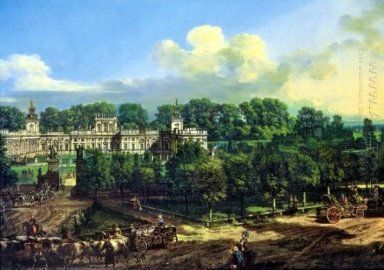 Wilanów Palace Seen From The Entrance 1776