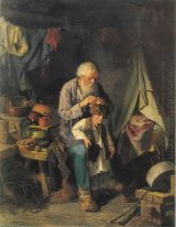 Grandfather And Grandson 1871