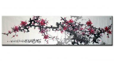 Plum-Hearte - Chinese Painting