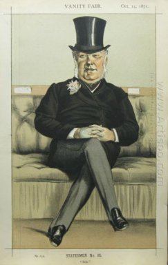 Caricature Of Henry William Eaton M P