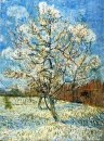 Peach Trees In Blossom 1888
