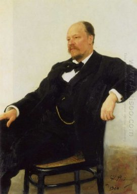 Portrait Of The Composer Anatoly Konstantinovich Lyadov 1902