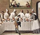St Hugh Of Cluny In The Refectory Of The Carthusians 1633