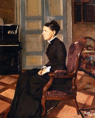 The Artist S Mother 1884