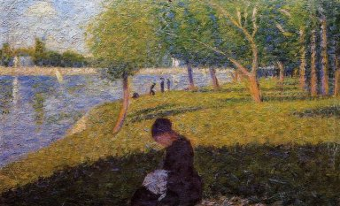 The Seamstress Or Sunday At The Grande Jatte Study For A Sunday