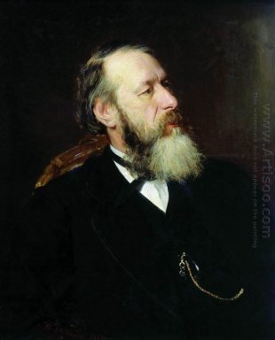 Portrait Of The Art Critic Vladimir Stasov 1873