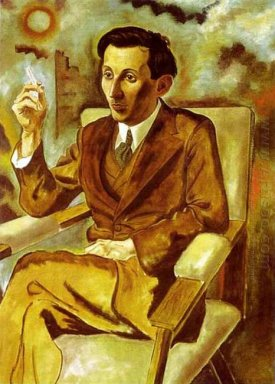 Portrait Of The Writer Walter Mehring 1925