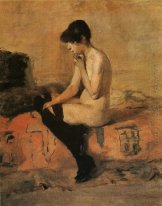 Study Of A Nude 1882