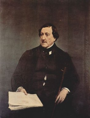 Portrait Of Gioacchino Rossini 1870