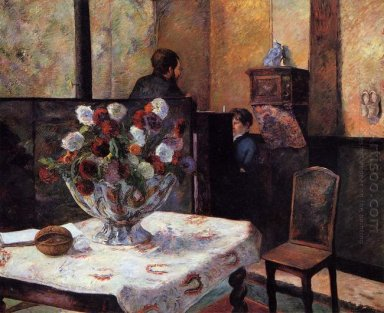 interior of the painter s house rue carcel 1881