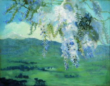 Blooming Wisteria 1912