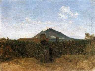 Civita Castellana And Mount Soracte 1826