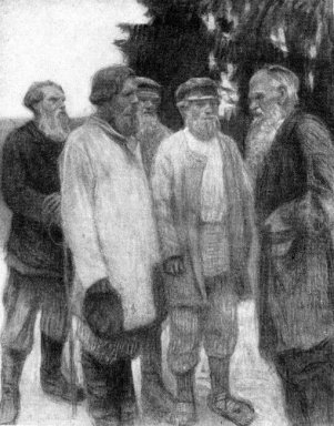 Leo Tolstoy Amoung The Peasants
