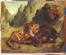 Lion And Boar 1853