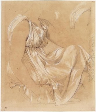 Study Of Seated Woman