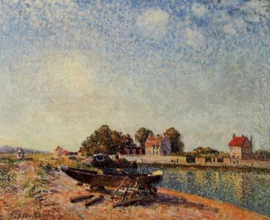 the loing at saint mammes 1885