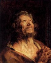 an apostle with folded hands 1620