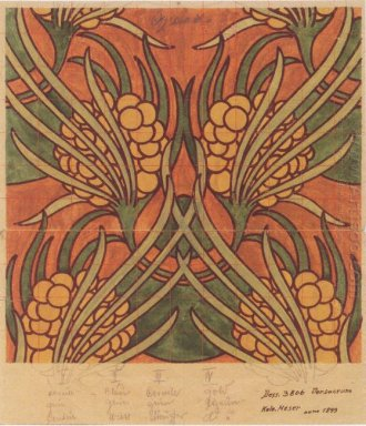 Fabric Design For Backhausen 1899