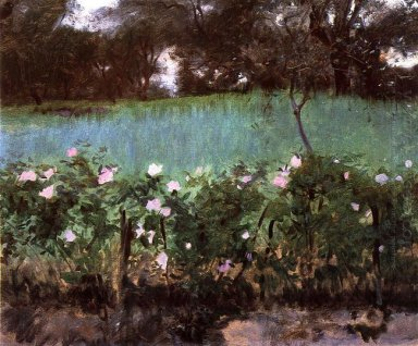 Landscape With Rose Trellis 1886