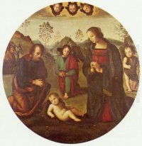Birth Of Christ Tondo