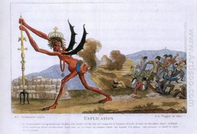 Caricature Of The English Government 1793
