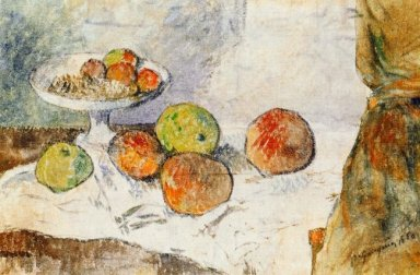 still life with fruit plate 1880