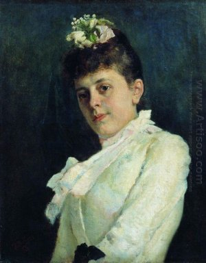 Oil Portrait Of A Woman 1887