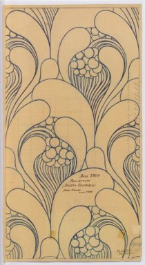 Fabric Design With Floral Awakening For Backhausen 1900