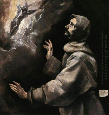 St Francis Receiving The Stigmata 3