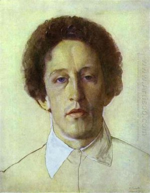 Portrait Of Aleksandr Blok 1907