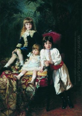Mr Balashov S Children 1880