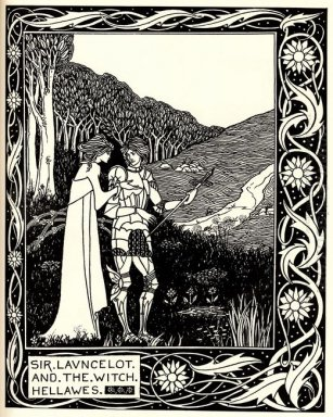 sir launcelot and the witch hellawes