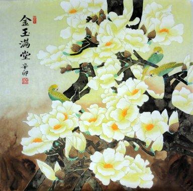 Birds&Flower - Chinese Painting