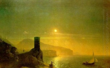 View Of Vico Near Naples 1855