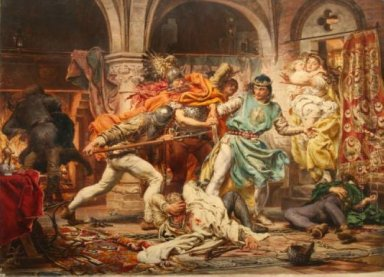 Death Of King Przemysl Ii
