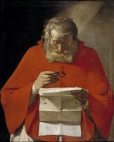 Saint Jerome Reading A Letter 1629