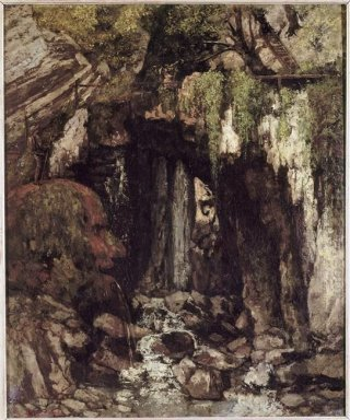 The Giants Cave From Saillon Switzerland 1873