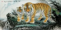 Tiger-King - Pittura cinese