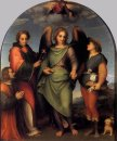 Archangel Raphael with Tobias, St. Lawrence and the Donor Leonar