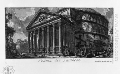 The Roman Antiquities T 1 Plate Xiv Pantheon 1756