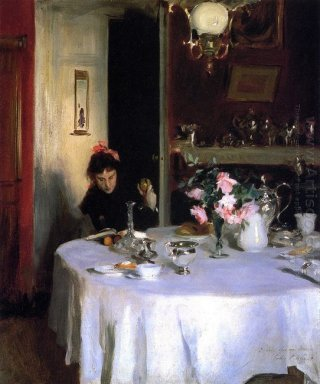 The Breakfast Table 1884