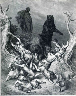 The Children Destroyed By Bears 1866