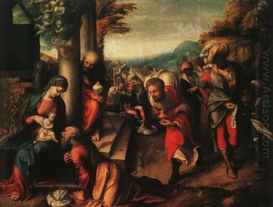The Adoration Of The Magi 1518